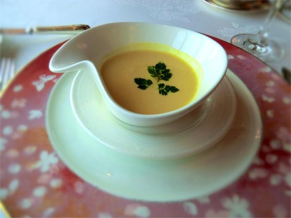冷製パッションフルーツのスープ