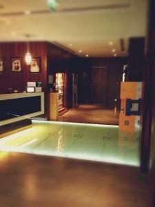 十分きれいなホテルでした