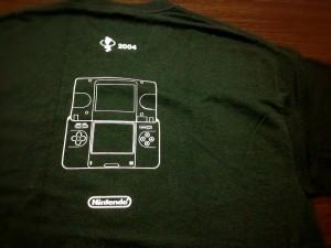 NintendoDS Tシャツ