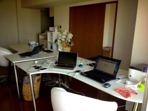 とってもきれいなオフィス!