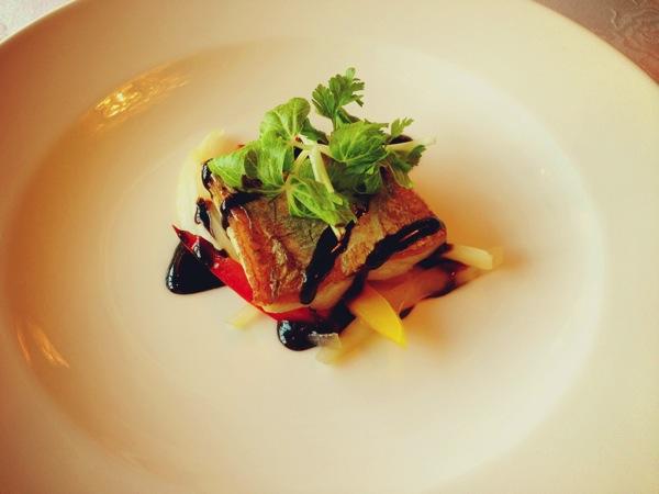 太刀魚のソテー バルサミコ酢ソース