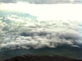 富士山 山頂からの眺め