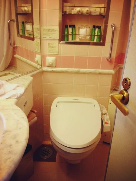 飛鳥 トイレ