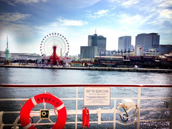飛鳥 神戸港