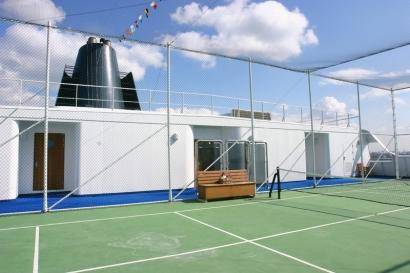 飛鳥 テニスコート